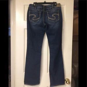 Silver brand jeans size 31/33